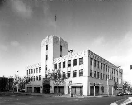 The Comstock Building--home of the Downtown Library from 1963 until 1990.